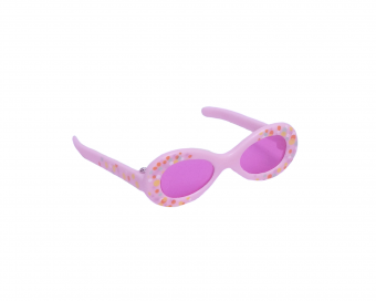 ROSA SONNENBRILLE FUER PUPPE
